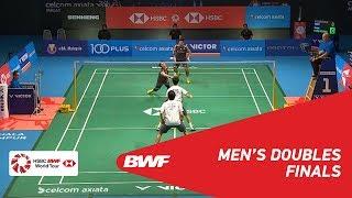 【Video】Takeshi KAMURA・Keigo SONODA VS Hiroyuki ENDO・Yuta WATANABE, CELCOM AXIATA Malaysia Open 2018 finals