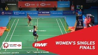 【Video】TAI Tzu Ying VS HE Bingjiao, CELCOM AXIATA Malaysia Open 2018 finals
