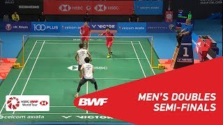 【Video】Takeshi KAMURA・Keigo SONODA VS HE Jiting・TAN Qiang, CELCOM AXIATA Malaysia Open 2018 semifinal