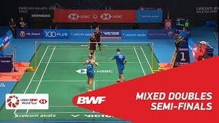 【Video】ZHENG Siwei・HUANG Yaqiong VS Chris ADCOCK・Gabrielle ADCOCK, CELCOM AXIATA Malaysia Open 2018 semifinal