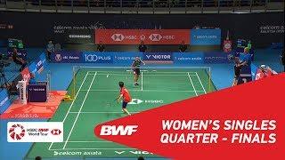 【Video】TAI Tzu Ying VS GOH Jin Wei, CELCOM AXIATA Malaysia Open 2018 quarter finals