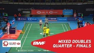 【Video】Yuta WATANABE・Arisa HIGASHINO VS TANG Chun Man・TSE Ying Suet, CELCOM AXIATA Malaysia Open 2018 quarter finals