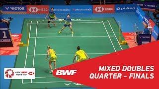 【Video】Chris ADCOCK・Gabrielle ADCOCK VS Tontowi AHMAD・Liliyana NATSIR, CELCOM AXIATA Malaysia Open 2018 quarter finals