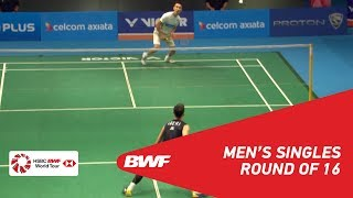 【Video】LEE Chong Wei VS LEE Hyun Il, CELCOM AXIATA Malaysia Open 2018 best 16