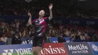 【Video】CHAN Peng Soon・Liu Ying GOH VS KIM Gi Jung・SHIN Seung Chan, YONEX Open Japan quarter finals
