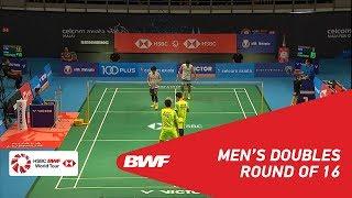 【Video】Takeshi KAMURA・Keigo SONODA VS Mohammad AHSAN・Hendra SETIAWAN, CELCOM AXIATA Malaysia Open 2018 best 16