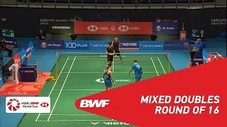 【Video】Chris ADCOCK・Gabrielle ADCOCK VS ZHANG Nan・LI Yinhui, CELCOM AXIATA Malaysia Open 2018 best 16