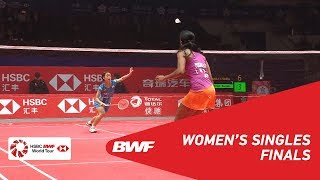 【Video】PUSARLA V. Sindhu VS Nozomi OKUHARA, HSBC BWF World Tour Finals 2018 other