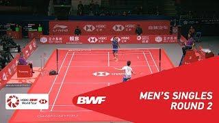 【Video】Kento MOMOTA VS Kantaphon WANGCHAROEN, HSBC BWF World Tour Finals 2018 other