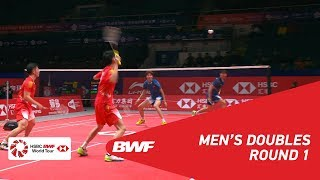 【Video】ZHOU Haodong VS LIU Yuchen, HSBC BWF World Tour Finals 2018 other