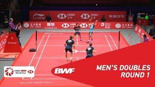 【Video】Marcus Fernaldi GIDEON・Kevin Sanjaya SUKAMULJO VS Kim ASTRUP・Anders Skaarup RASMUSSEN, HSBC BWF World Tour Finals 2018 ot