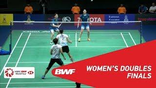 【Video】Puttita SUPAJIRAKUL・Sapsiree TAERATTANACHAI VS LI Wenmei・YU Zheng, PRINCESS SIRIVANNAVARI Thailand Masters 2019 finals