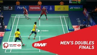 【Video】GOH V Shem・TAN Wee Kiong VS LU Ching Yao・YANG Po Han, PRINCESS SIRIVANNAVARI Thailand Masters 2019 finals