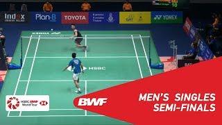 【Video】LIN Dan VS LU Guangzu, PRINCESS SIRIVANNAVARI Thailand Masters 2019 semifinal