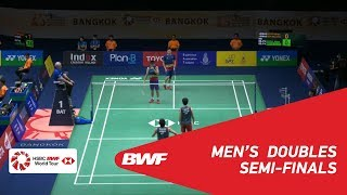 【Video】GOH V Shem・TAN Wee Kiong VS Akira KOGA・Taichi SAITO, PRINCESS SIRIVANNAVARI Thailand Masters 2019 semifinal