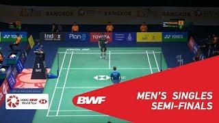 【Video】Brice LEVERDEZ VS Kean Yew LOH, PRINCESS SIRIVANNAVARI Thailand Masters 2019 semifinal