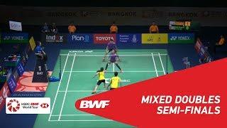 【Video】CHAN Peng Soon・GOH Liu Ying VS TANG Chun Man・NG Tsz Yau, PRINCESS SIRIVANNAVARI Thailand Masters 2019 semifinal