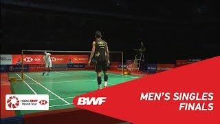 【Video】CHEN Long VS SON Wan Ho, PERODUA Malaysia Masters 2019 finals