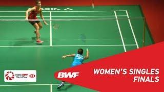 【Video】Ratchanok INTANON VS Carolina MARIN, PERODUA Malaysia Masters 2019 finals