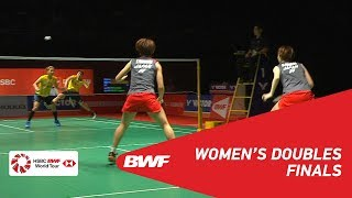 【Video】Yuki FUKUSHIMA・Sayaka HIROTA VS Greysia POLII・Apriyani RAHAYU, PERODUA Malaysia Masters 2019 finals