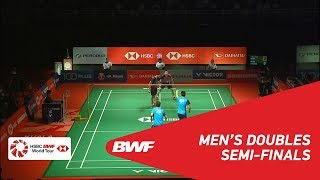 【Video】ONG Yew Sin・TEO Ee Yi VS Aaron CHIA・Wooi Yik SOH, PERODUA Malaysia Masters 2019 semifinal