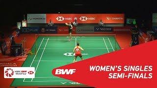 【Video】Carolina MARIN VS Saina NEHWAL, PERODUA Malaysia Masters 2019 semifinal