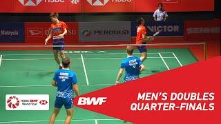 【Video】Aaron CHIA・Wooi Yik SOH VS Kim ASTRUP・Anders Skaarup RASMUSSEN, PERODUA Malaysia Masters 2019 quarter finals