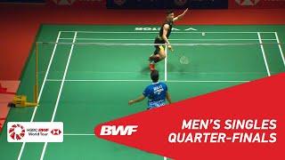 【Video】CHEN Long VS Anthony Sinisuka GINTING, PERODUA Malaysia Masters 2019 quarter finals