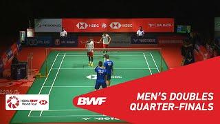 【Video】ONG Yew Sin・TEO Ee Yi VS Takeshi KAMURA・Keigo SONODA, PERODUA Malaysia Masters 2019 quarter finals