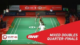 【Video】Yuta WATANABE・Arisa HIGASHINO VS SEO Seung Jae・CHAE YuJung, PERODUA Malaysia Masters 2019 quarter finals