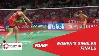 【Video】Saina NEHWAL VS Carolina MARIN, DAIHATSU Indonesia Masters 2019 finals