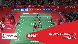 【Video】Marcus Fernaldi GIDEON・Kevin Sanjaya SUKAMULJO VS Mohammad AHSAN・Hendra SETIAWAN, DAIHATSU Indonesia Masters 2019 finals