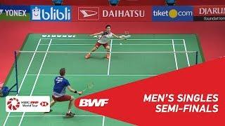【Video】Kento MOMOTA VS Viktor AXELSEN, DAIHATSU Indonesia Masters 2019 semifinal