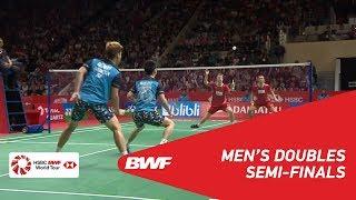 【Video】Marcus Fernaldi GIDEON・Kevin Sanjaya SUKAMULJO VS Kim ASTRUP・Anders Skaarup RASMUSSEN, DAIHATSU Indonesia Masters 2019 se