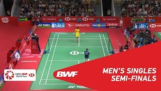 【Video】Anders ANTONSEN VS Jonatan CHRISTIE, DAIHATSU Indonesia Masters 2019 semifinal