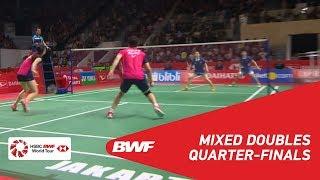 【Video】ZHENG Siwei・HUANG Yaqiong VS GOH Soon Huat・Shevon Jemie LAI, DAIHATSU Indonesia Masters 2019 quarter finals