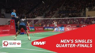 【Video】Kento MOMOTA VS Anthony Sinisuka GINTING, DAIHATSU Indonesia Masters 2019 quarter finals