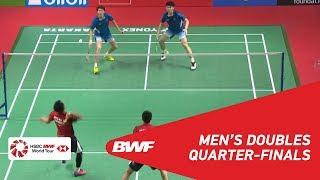 【Video】Mohammad AHSAN・Hendra SETIAWAN VS LI Junhui・LIU Yuchen, DAIHATSU Indonesia Masters 2019 quarter finals