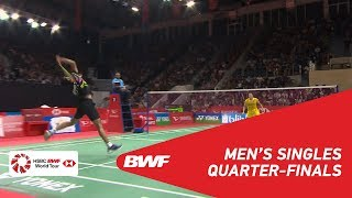 【Video】KIDAMBI Srikanth VS Jonatan CHRISTIE, DAIHATSU Indonesia Masters 2019 quarter finals
