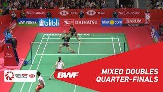 【Video】Tontowi AHMAD・Liliyana NATSIR VS Takuro HOKI・Wakana NAGAHARA, DAIHATSU Indonesia Masters 2019 quarter finals