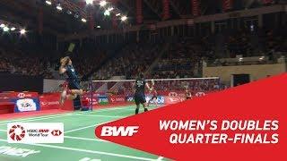 【Video】Greysia POLII・Apriyani RAHAYU VS Jongkolphan KITITHARAKUL・Rawinda PRAJONGJAI, DAIHATSU Indonesia Masters 2019 quarter fin