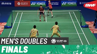 【Video】LEE Yang・WANG Chi-Lin VS GOH V Shem・TAN Wee Kiong, Korea Masters 2019 finals