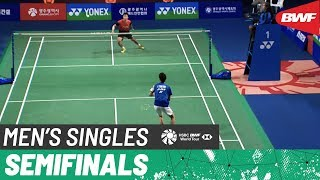 【Video】Kanta TSUNEYAMA VS LU Guangzu, Korea Masters 2019 semifinal