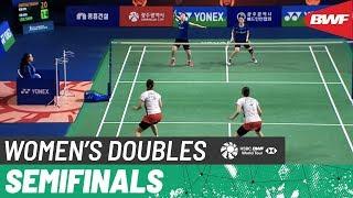 【Video】Misaki MATSUTOMO・Ayaka TAKAHASHI VS LEE So Hee・SHIN Seung Chan, Korea Masters 2019 semifinal