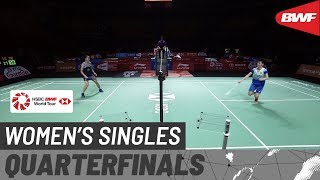 【Video】Ratchanok INTANON VS CHEN Yufei, Fuzhou China Open 2019 quarter finals