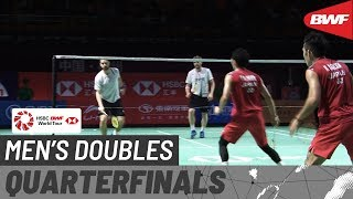 【Video】Takeshi KAMURA・Keigo SONODA VS Marcus ELLIS・Chris LANGRIDGE, Fuzhou China Open 2019 quarter finals