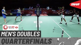 【Video】Satwiksairaj RANKIREDDY・Chirag SHETTY VS LI Junhui・LIU Yuchen, Fuzhou China Open 2019 quarter finals
