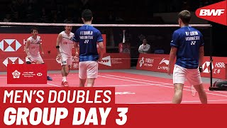 【Video】Marcus Fernaldi GIDEON・Kevin Sanjaya SUKAMULJO VS Takeshi KAMURA・Keigo SONODA, HSBC BWF World Tour Finals 2019 other