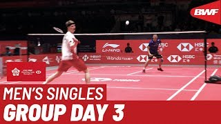 【Video】Anders ANTONSEN VS WANG Tzu Wei, HSBC BWF World Tour Finals 2019 other