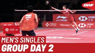 【Video】Kento MOMOTA VS Anders ANTONSEN, HSBC BWF World Tour Finals 2019 other